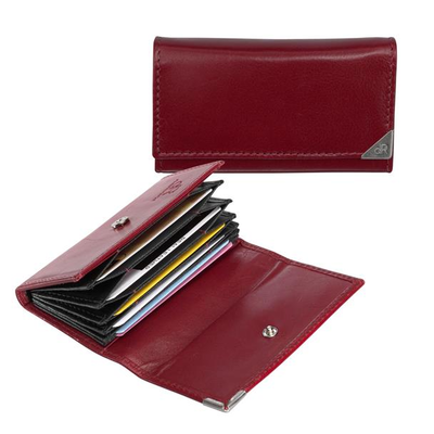15635 dR Amsterdam Creditcard-etui Red