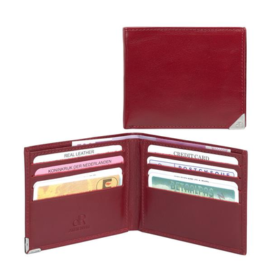 15694 dR Amsterdam Creditcard-etui Red