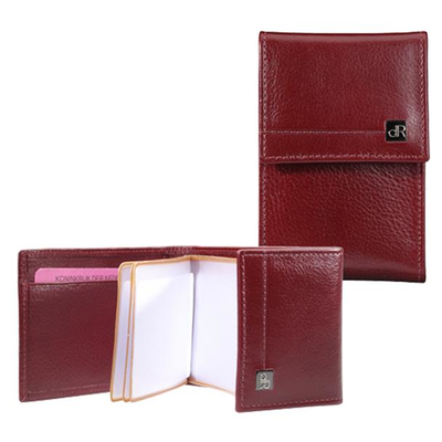 118690 dR Amsterdam Creditcard-etui Red