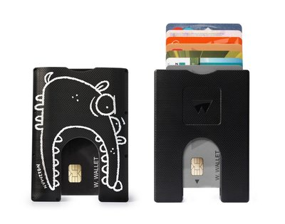 Nozzman Walter Wallet Kunststof Way Black DAWG