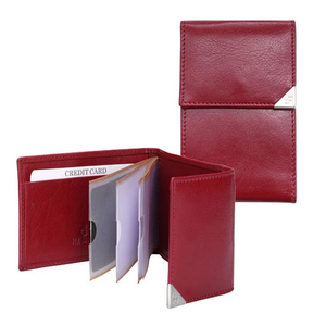15690 dR Amsterdam Creditcard-etui Red