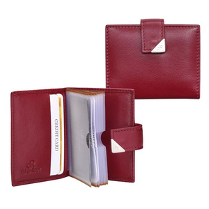 15692 dR Amsterdam Creditcard-etui Red