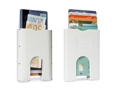 WW002 Walter Wallet Kunststof Bright White